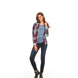 Jegging en denim slim fit para mujer