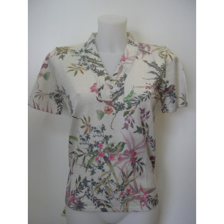 Jersey de mujer Juper con estampado de flores