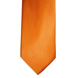 Corbata lisa naranja