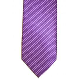 Corbata lisa morado