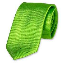 Corbata lisa verde manzana