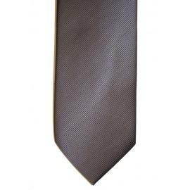 Corbata lisa azul