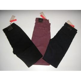 5aab84f65e Pantalón pitillo de mujer negro con cinco bolsillos