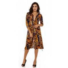 Vestido de mujer Waipai camisero estampado +colores