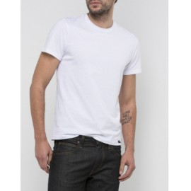 camiseta de Lee blanca manga corta hombre