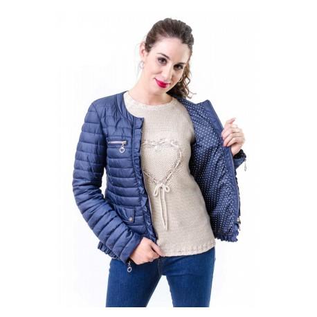 Chaqueta acolchada ligera de mujer OPCION +COLORES